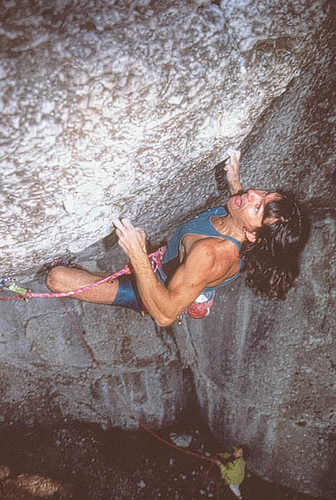 Wolfgang Gullich on Action Directe the worlds first 5.14d